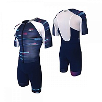 Костюм для триатлона Z3R0D TT Suit revolution blue мужской